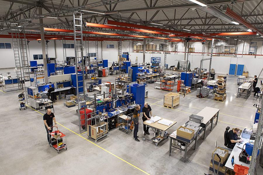 Elpro i Alingsås nya anläggning