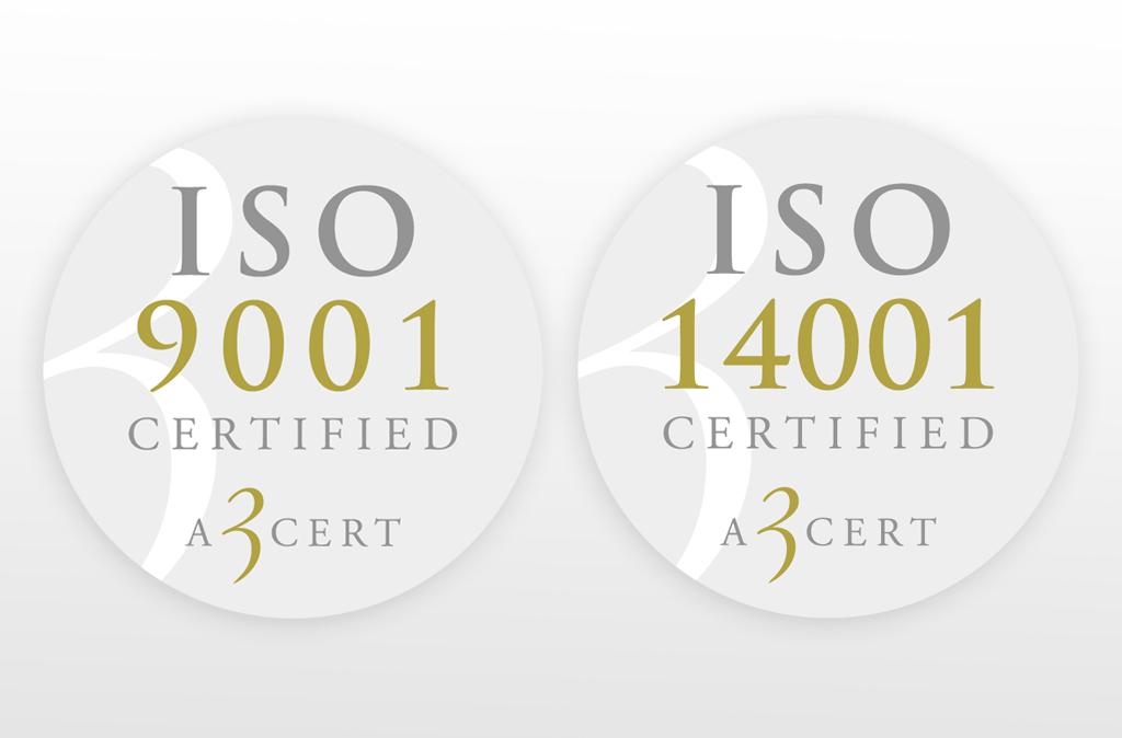 ISO-certifiering 9001 och 14001
